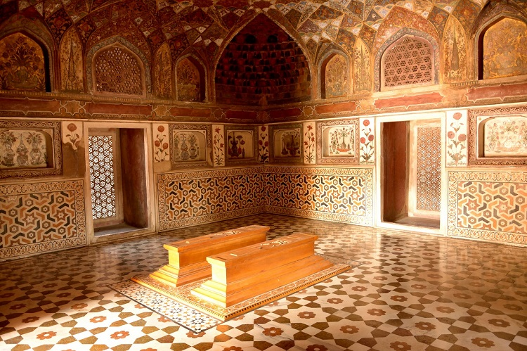 Interior of Tomb of Itimad-Ud-Daulah