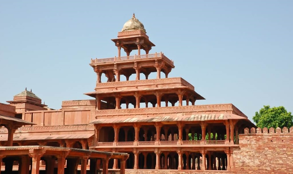 Panch Mahal at Fatehpur Sikri