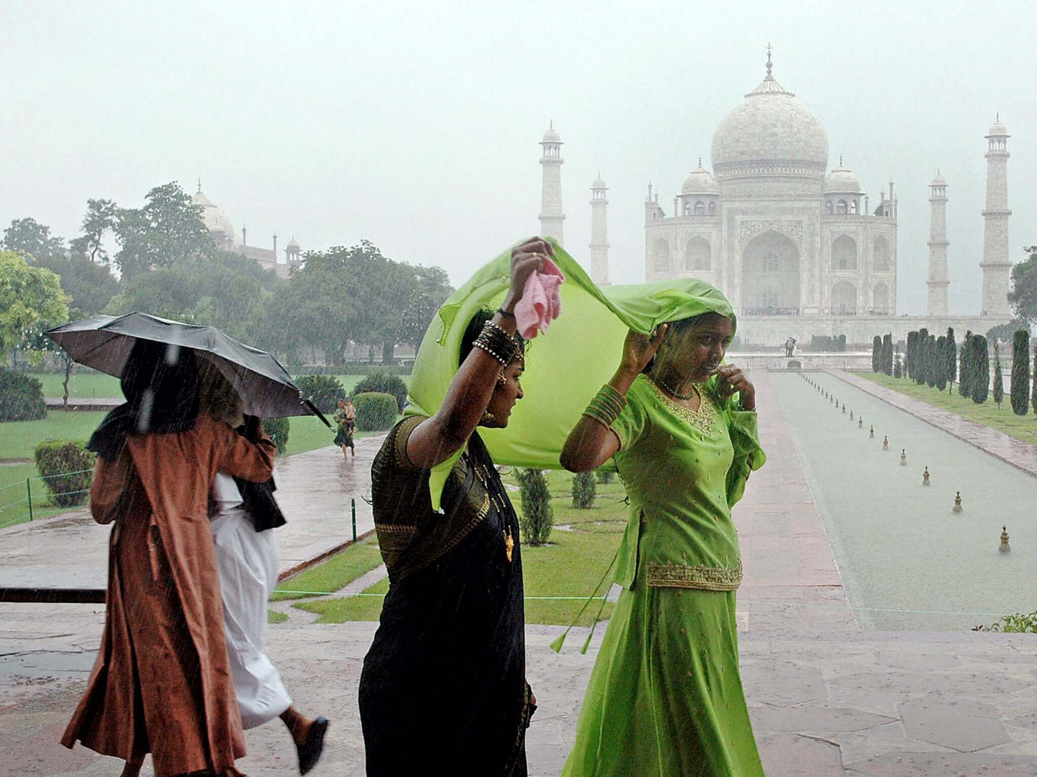 Agra in Rainy Season