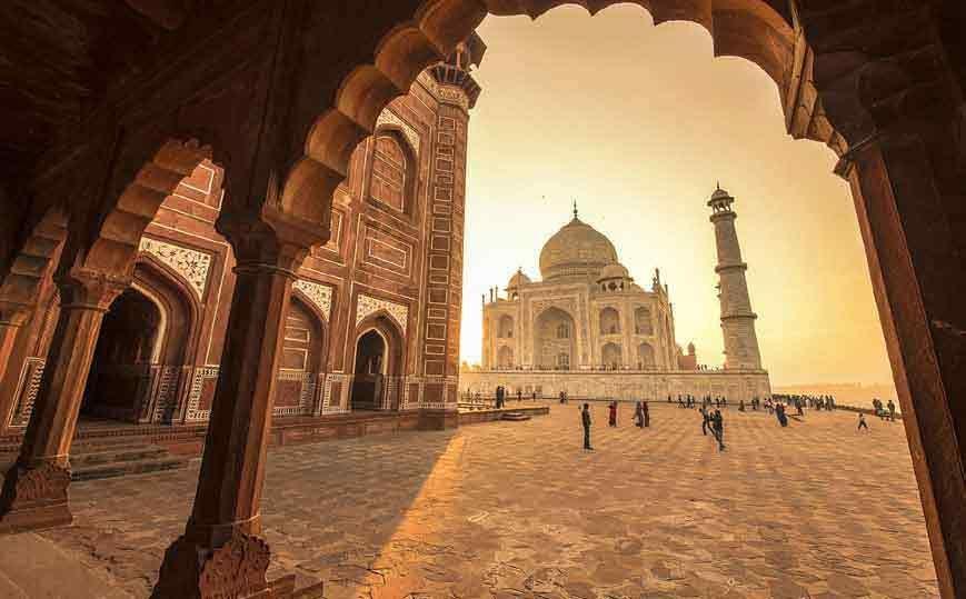 Sunrise Tajmahal Agra