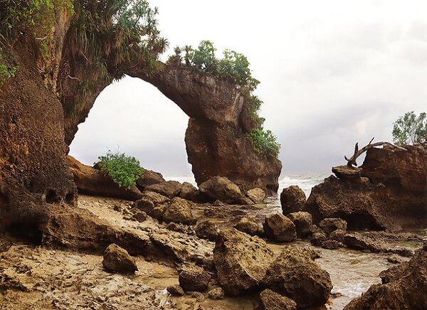 Natural Bridge at Neil Island
