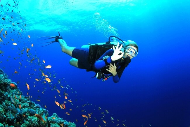 Scuba Diving at Andaman