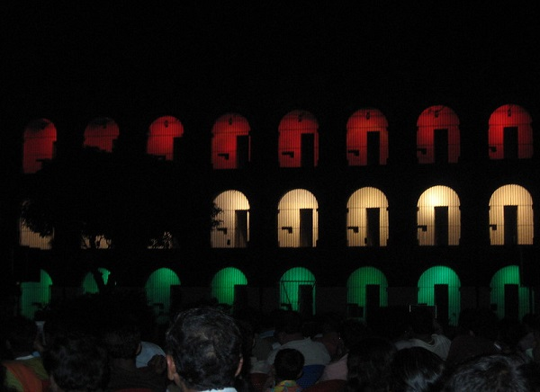 Sound and Light Show at Cellular Jail