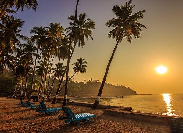 Sunset at Corbyn Cove Beach