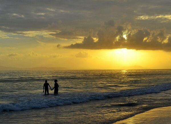 Sunset at Radhanagar Beach