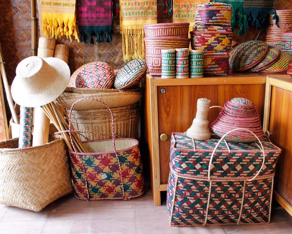 Bamboo Cane Items, Bhutan