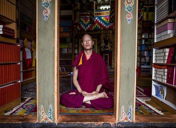 Meditation in Bhutan