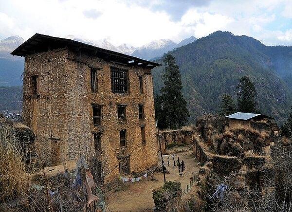 Drukgyel Dzong Bhutan