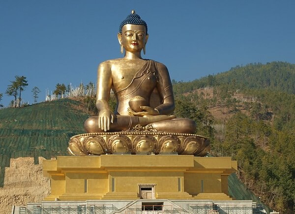 Buddha Statue at Kuensel Phodran