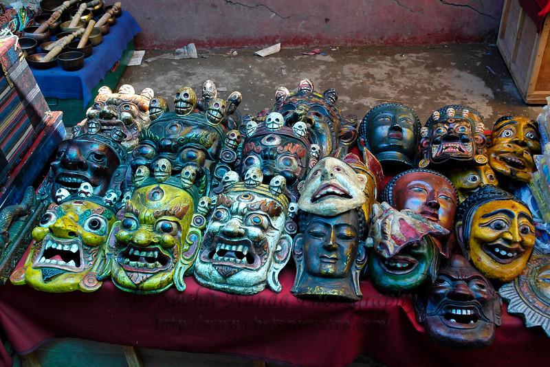 Masks, Bhutan
