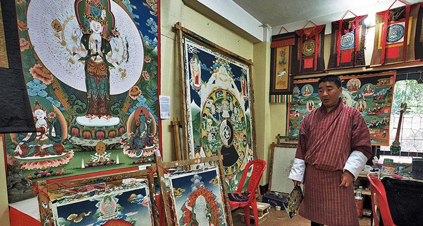 Thangka Painting, Bhutan