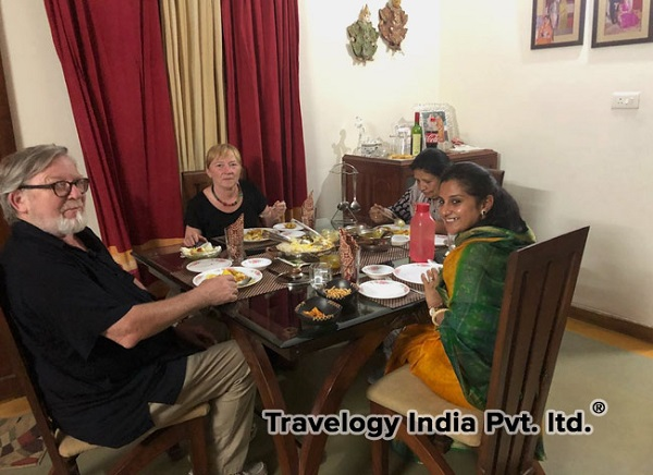 Delhi Food with Local Family
