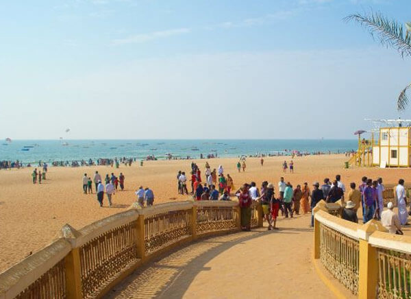Calangute Beach Goa Attractions Water Sports Activities Distance