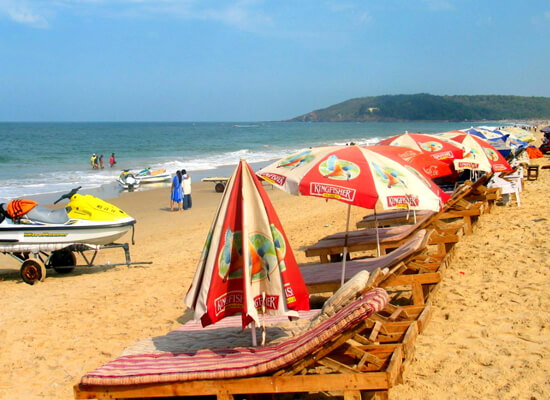 Goa Beach with 10 Days India Beach Holiday
