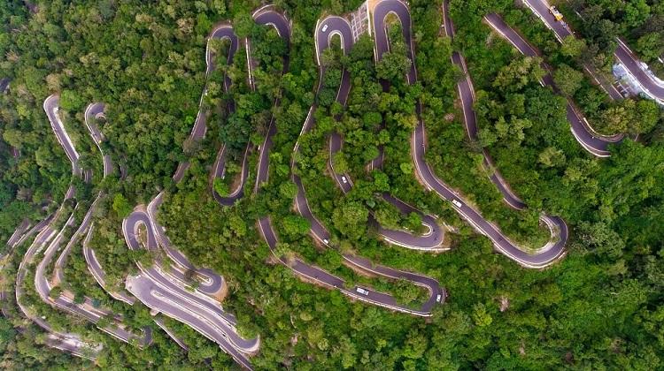 Kolli Hill Road, Tamil Nadu