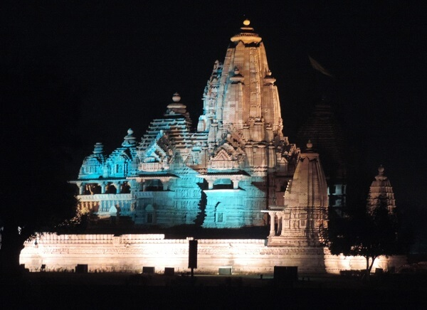 Light Show in Khajuraho