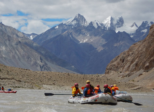 14 Days Ladakh River Rafting Tour