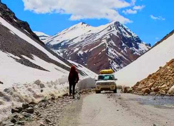 Leh to Srinagar Jeep Safari