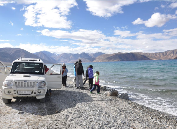 Pangong Lake Jeep Safari