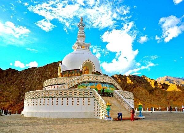 Ladakh Shanti Stupa