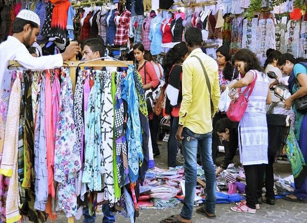 Bandra Linking Road Market Mumbai