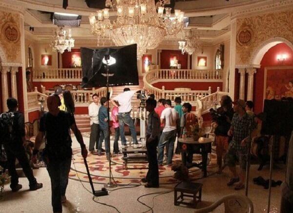 Bollywood Film Shooting at Studios Mumbai