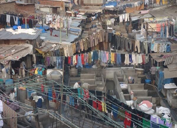 Dharavi Slum Area