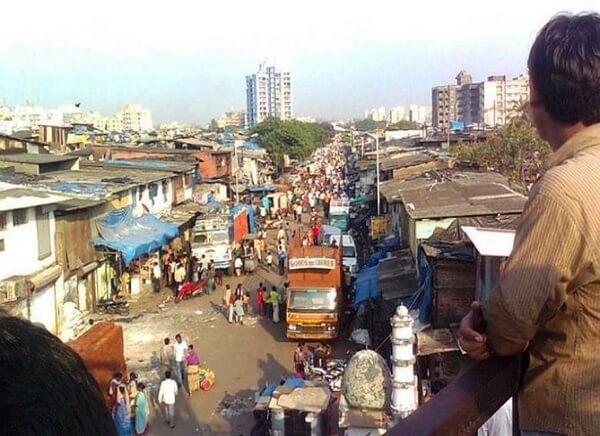 Dharavi Slum Area, Mumbai