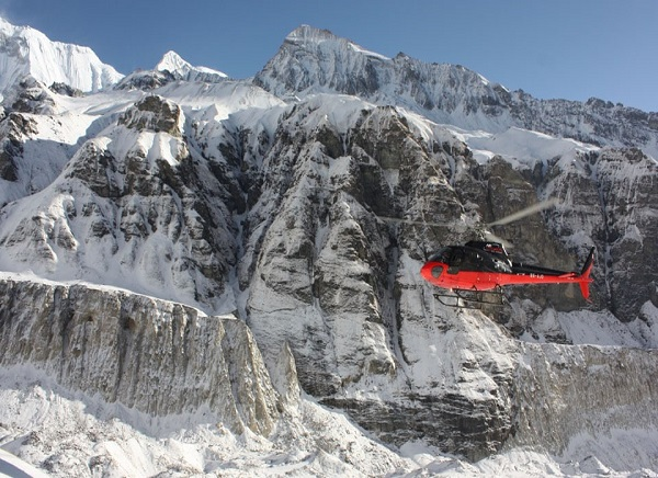 Annapurna Base Camp via Heli