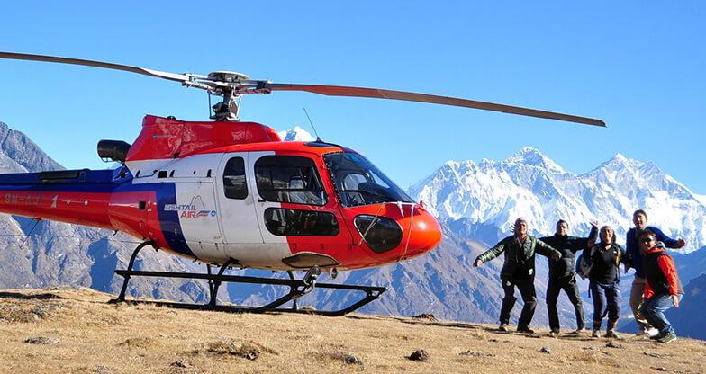 Mountain Flight in Nepal