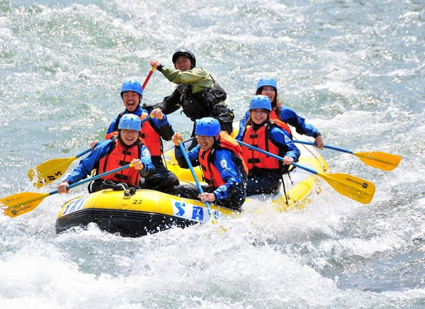 rafting activity in nepal