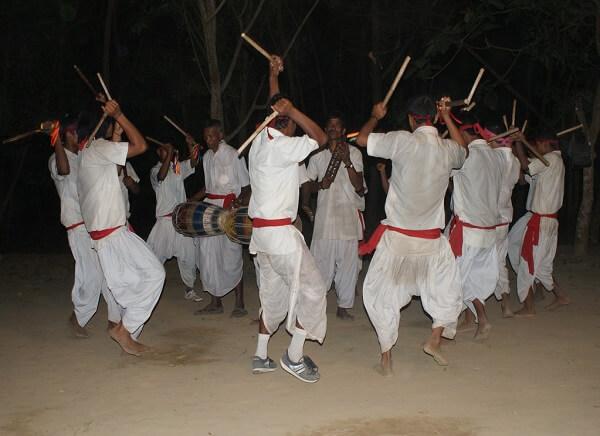 Tharu Stick Dance, Nepal