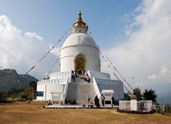 World Peace Pagoda, Nepal