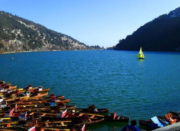 nanital lake view