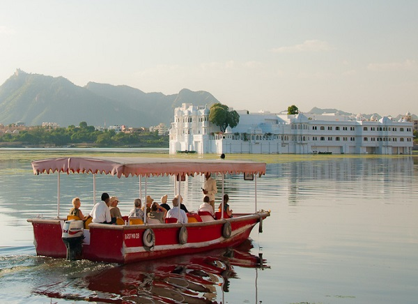 Boat Riding at Lake Pichola, Udaipur
