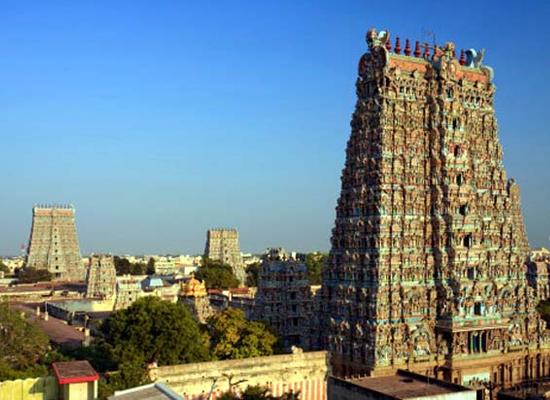 Meenakshi Amman Tempel Madurai