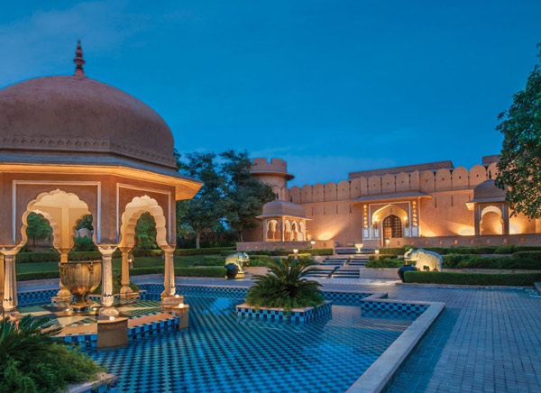 Oberoi Rajvilas Resort Jaipur