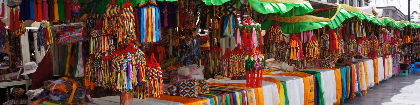 Tibet Shopping