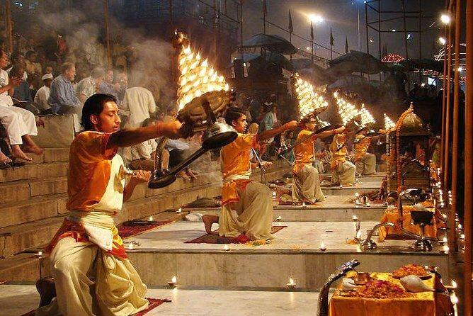Varanasi Aarti at Ganga Ghat