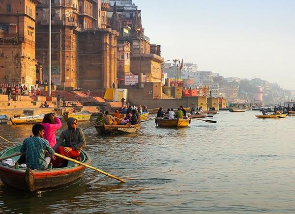 9 Days Golden Triangle with Varanasi Tour