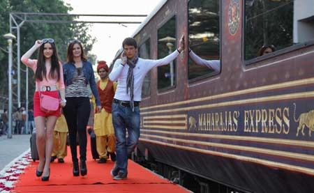The Maharajas Express Arrival