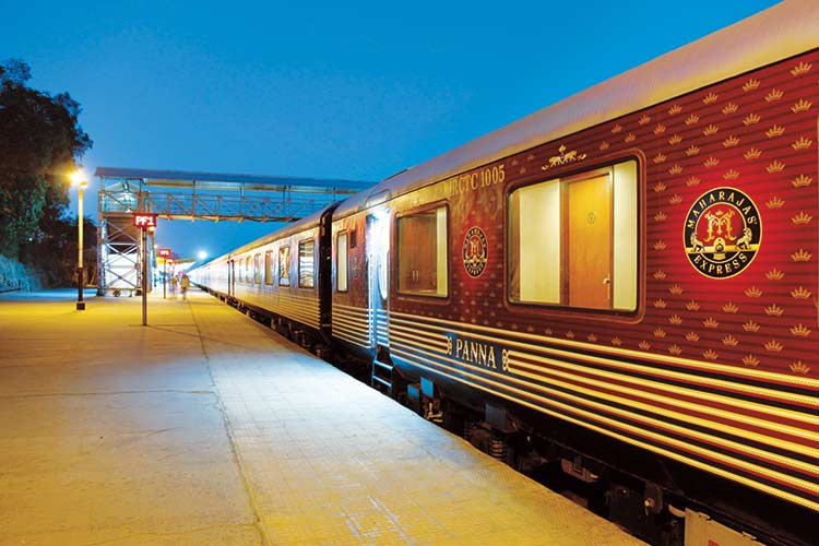 Maharajas Express Train Exterior Images