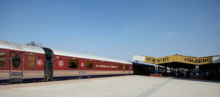 Maharajas Express Train Exterior photo