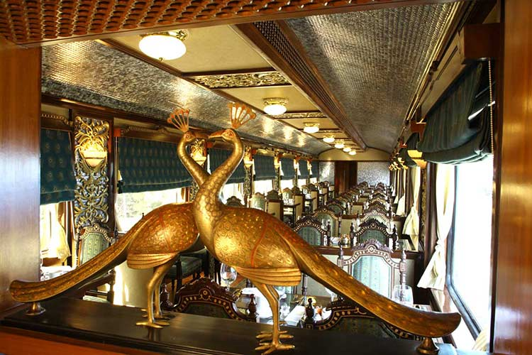 Maharajas Express Mayur Mahal Restaurant