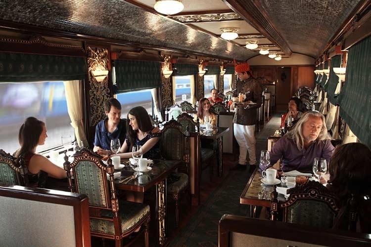 Mayur Mahal Restaurant in Maharajas Express