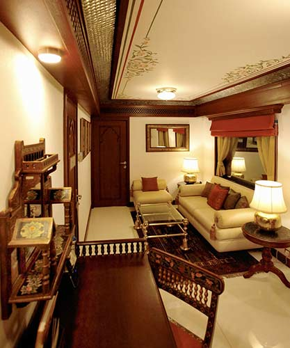 Presidential Suite fare and cost