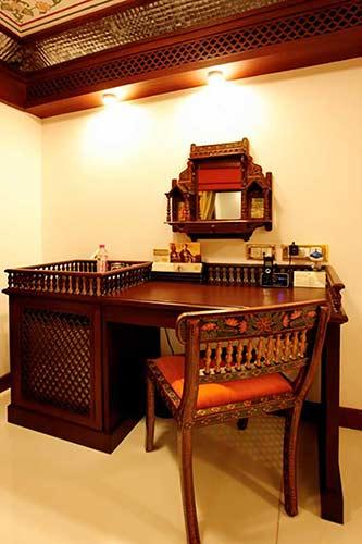 Presidential Suite in Maharaja Express