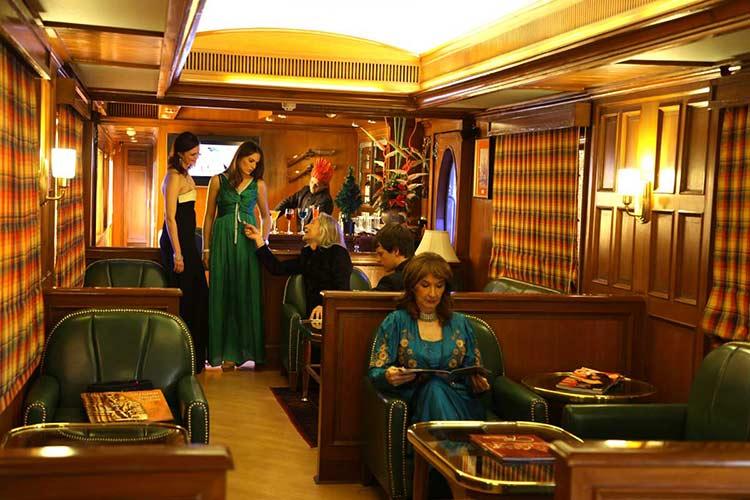 Maharajas Express Rajah Club Lounge and Bar