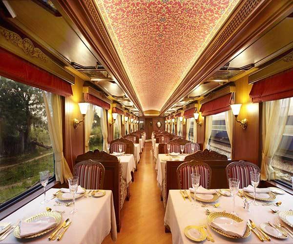 Rang Mahal Restaurant of Maharajas Express