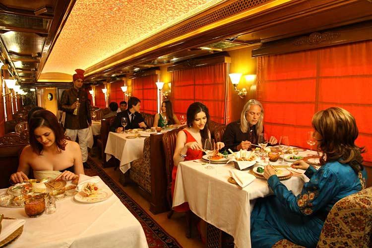 Rang Mahal Restaurant in Maharajas Express